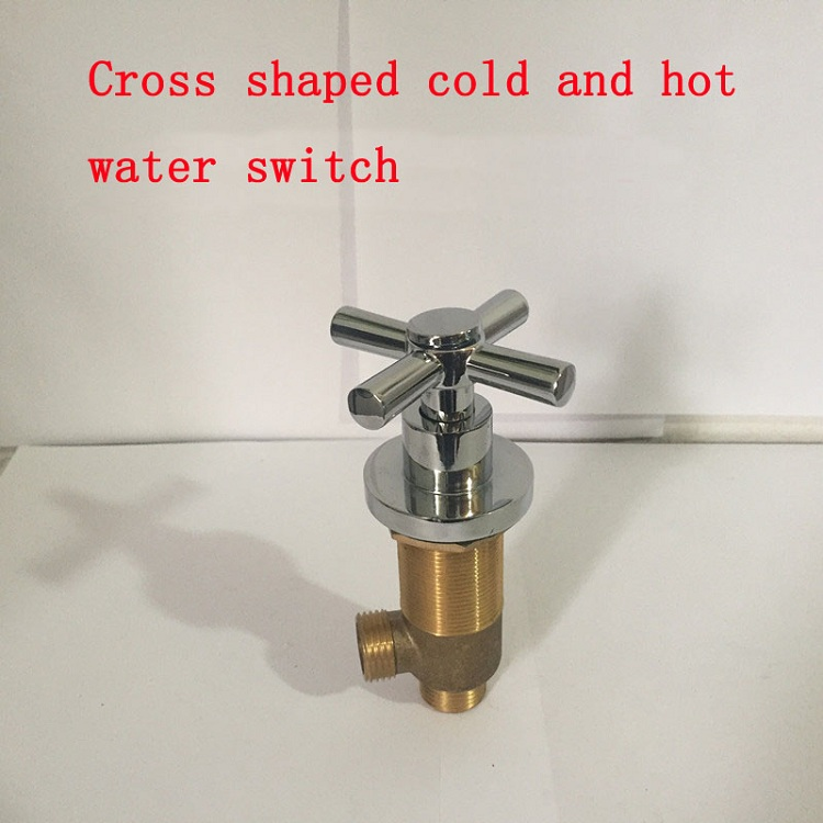 Wholesale cold and hot water switch bathtub valves, Shower room mixing valve chrome, 7 types bathroom accessories control valvesWholesale cold and hot water switch bathtub valves, Shower room mixing valve chrome, 7 types bathroom accessories control valves