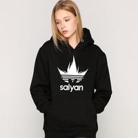 DRAGON BALL Hoodies women saiyan Sweatshirt japan brand clothing Thick modis wukong felpe donna oversized hoodie womens clothes