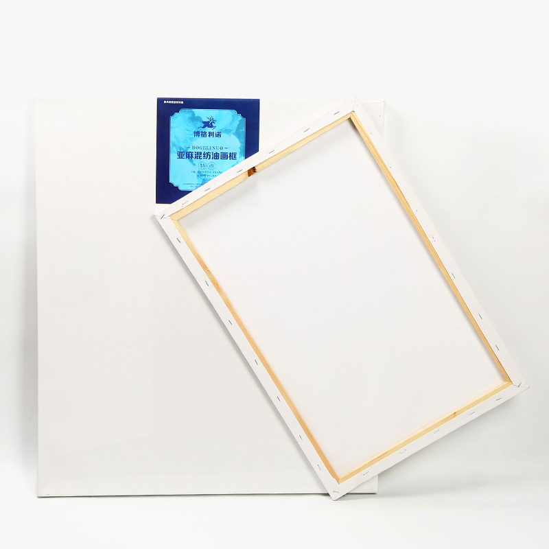 Oil painting frame oil canvas beginner hand-painted acrylic board with art supplies