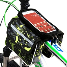 Bicycle on the shelf package mobile phone bag storage travel easy to carry a packet