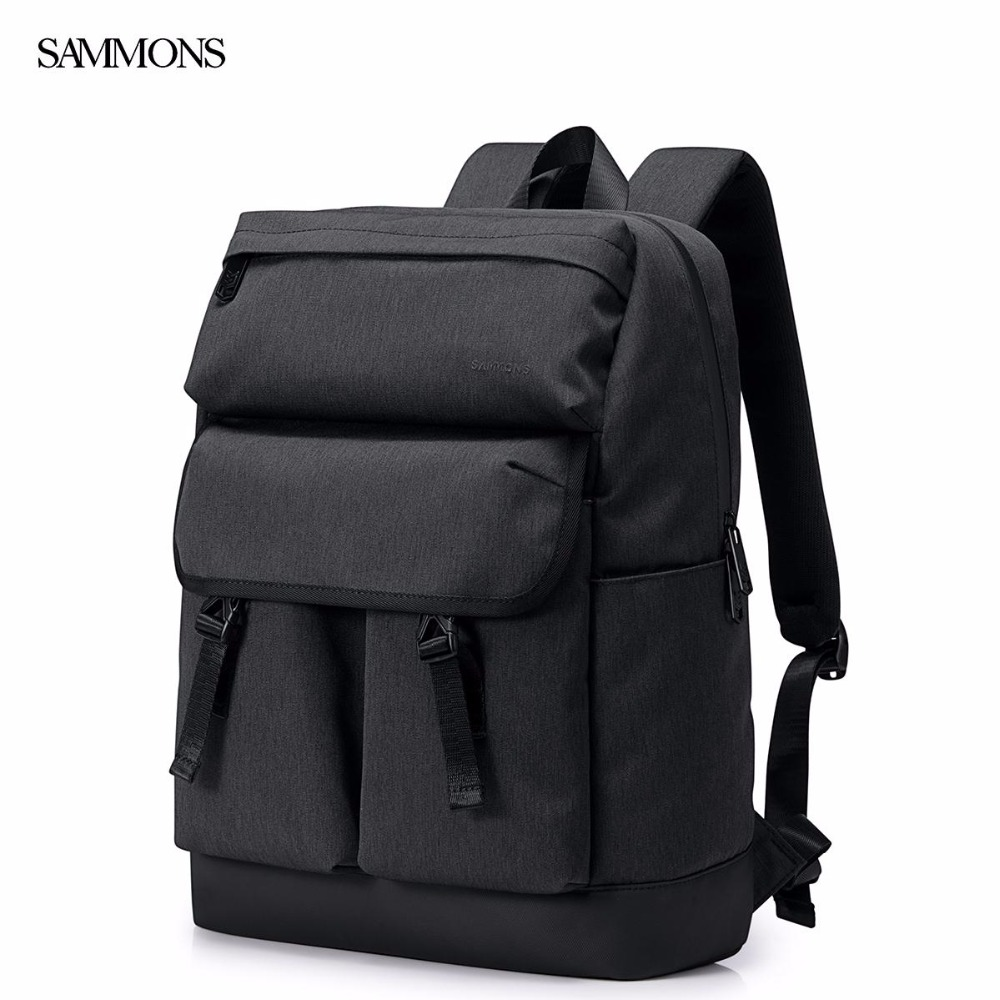 SAMMONS Brand New Design Fashion Waterproof Nylon Men Backpack Casual School Travel Shoulders Bags Laptop Bag