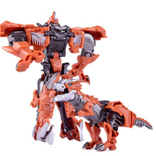 SLPF Children Toys Puzzle Anime Transformation Deformation Robot Plastic Dinosaur Sports Car Model Action Figure Boy Toy GiftC30 deformation toys king kong 4 league level ground lamp robot car model children toy boy gifts
