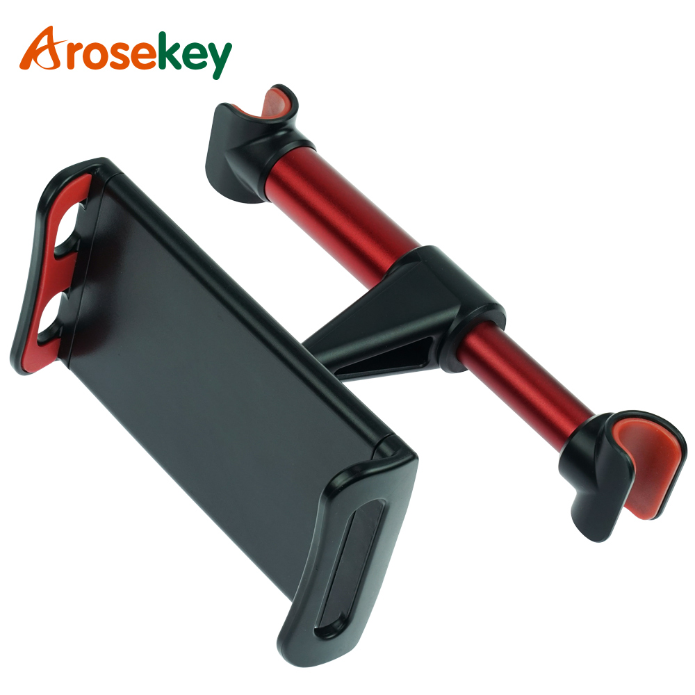 Arosekey 4-11'' Universal Tablet Car Holder For IPad 2 3 4 Mini Air 1 2 3 4 Pro