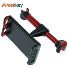 Arosekey Soporte Universal para Tablet de 4 11 pulgadas para coche, para IPad 2 3 4 Mini Air 1 2 3 4 Pro, soporte para asiento trasero, accesorios para Tablet en coche