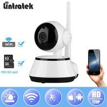 hot deal buy lintratek new video surveillance ip camera wifi mini baby monitor wi-fi ptz cam onvif 2.0 wireless home camera