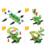 Novo Design do Tipo calhambeque carro criança brinquedos Do Bebê educacional DIY Modelo Montado Chave De Fenda Ferramenta Deformação Montagem Variedade de formas