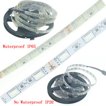 цена на LED Strip SMD 5050 RGB lights 5M 300Leds Waterproof DC 12V Fiexble Light Led diode Ribbon Tape Home Decoration Lamp Warm White