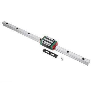 Guía de carril lineal HGR15 100-1200mm con guía de carril lineal HGH15CA partes de bloque CNC para Máquinas Herramientas CNC duraderas