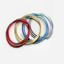5M car front and rear door interior modification strip air conditioning outlet modified accessories