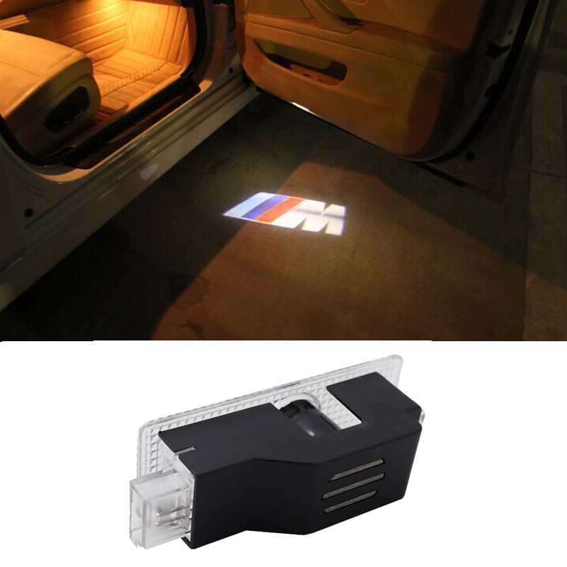 bmw door lights the led lights installed for this bmw. Black Bedroom Furniture Sets. Home Design Ideas