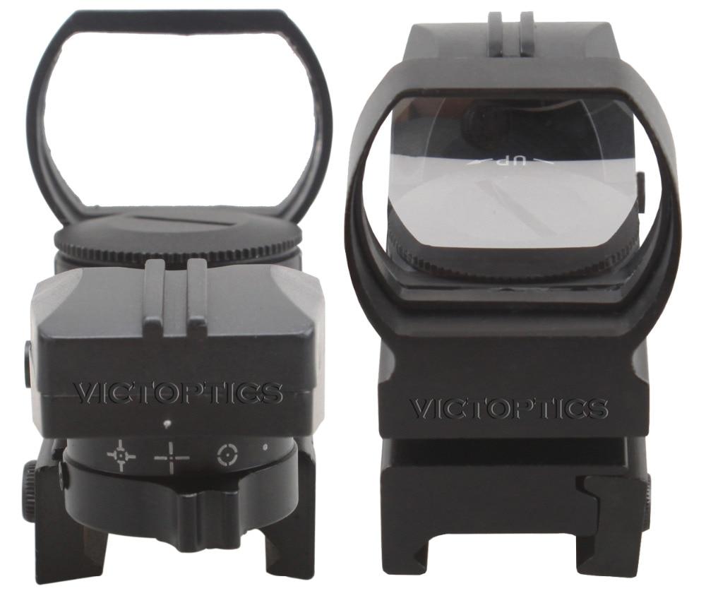 victoptics 1x23x34 riflescope reflexo visao aberta ponto 04