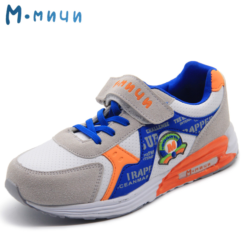 MMNUN 2018 New Children Sneakers Big Kids Sport Shoes Breathable Comfortable Children Shoes Boys Fashion Boys Sneakers Shoes autumn new fashion comfortable children boys girls shoes kids sport breathable high quality caterpillar lazy shoes convenient