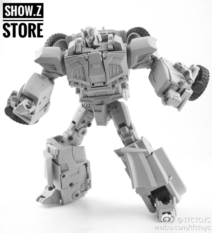 [Show.Z Store] [Pre-order] TFC Toys Trinity Force TF-03 Wildchaser Blacker Transformation Action Figure