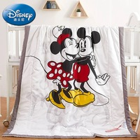 disney summer quilt comforter for kids girls bedroom mickey and minnie mouse 120*150 polyester bedding boys bed home decoration