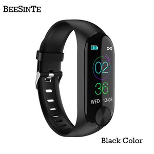 Image 2 - Smart armband wasserdichte wärme rate monitor blutdruck für Fitness Tracker unterstützung multi sport modus für Andriod smart band