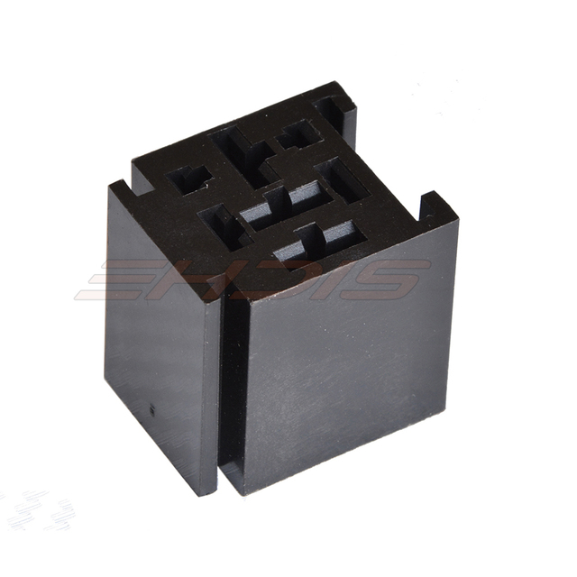 5Pcs 80 Amp Relay Connector 4 Pin Relay Socket With 4 Terminals 2 - 4 Prong Relay Part Number