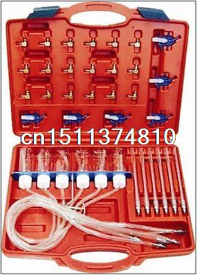 Diesel Injector Flow Test Tool Kit Common Rail Adaptor Fuel Tester Set N008293  cr508 diesel common rail pressure tester and simulator for bosch delphi denso sensor test tool diagnostic tools high pressure