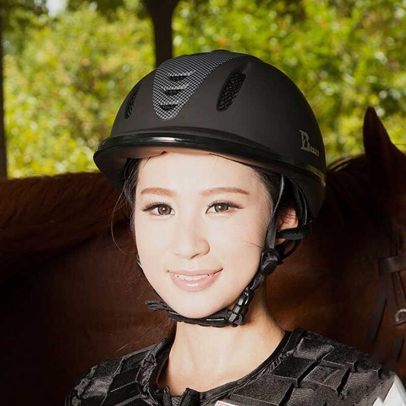 Profesyonel At Binme Kask At Yarışı Atlı Kask Erkekler Kadınlar ve Çocuklar için