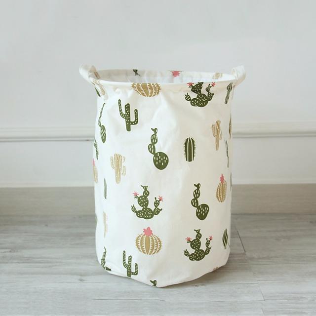 Cactus – Large Storage Basket for Kids Room