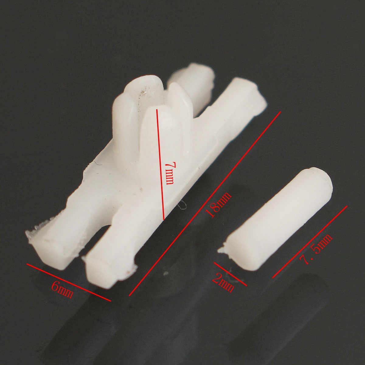 10 adet Yan kapı pervazı Kalıplama Şerit Oto Bağlantı Elemanları plastik klipler için VW/GOLF/MK1/Jetta Eski Beetle