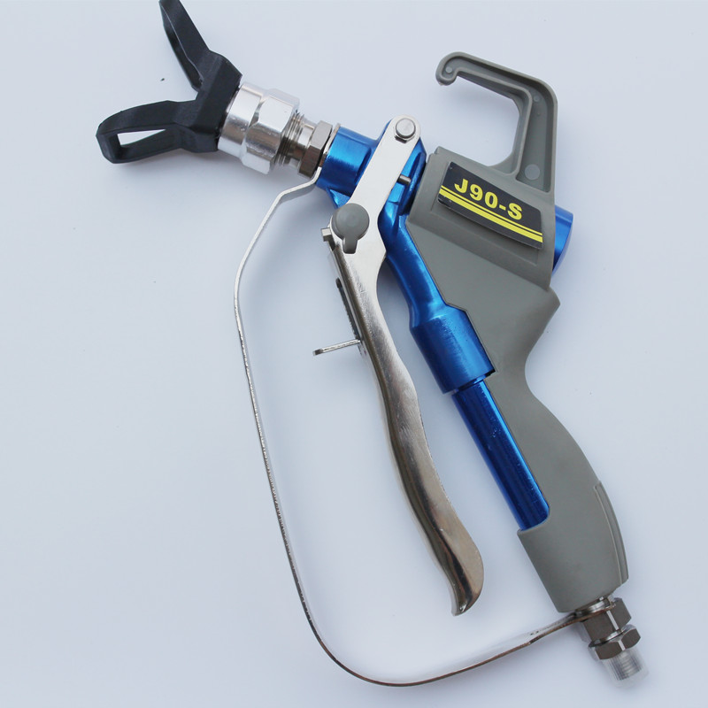 High pressure airless spray gun straight shank maximum pressure 4000 PSI professional free shipping