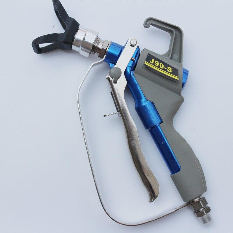 High pressure airless spray gun straight shank maximum pressure 4000 PSI professional free shipping