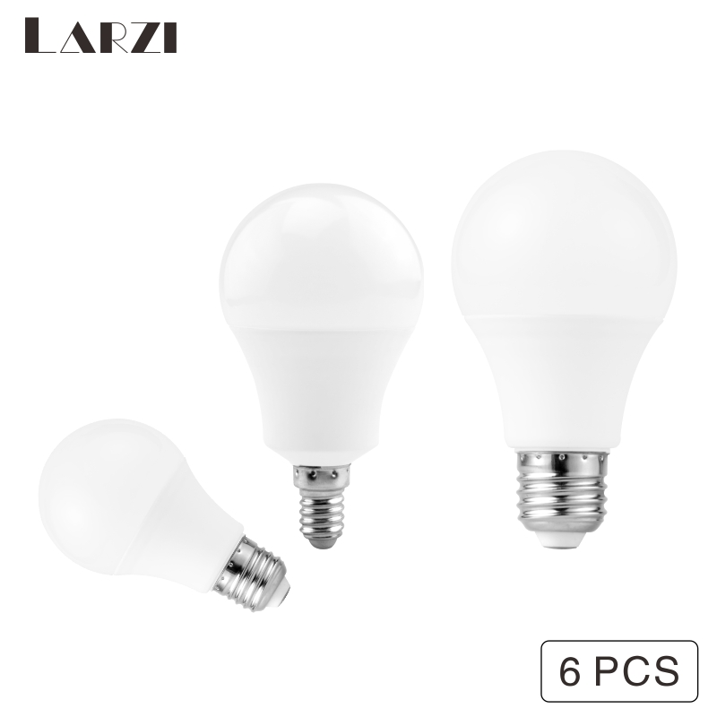 6PCS LED Bulb E27 E14 3W 6W 9W 12W 15W 18W 20W 24W LED Light AC 220V 230V Cold/Warm White Lampada Ampoule Bombilla Lamp Lighting