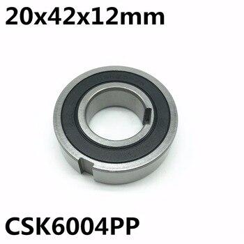 CSK6004 CSK6004PP 20x42x12 Milímetros Uma Forma De Rolamento Com Chaveta Sprag Inércia Carência Clutch Frete Grátis