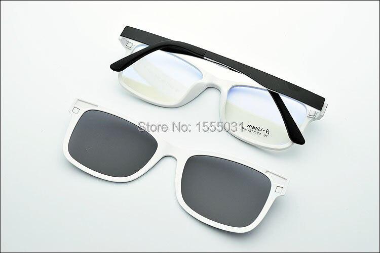 kaufen sie freie shiping ultraleichte brille rahmen mit magnet polarisierten. Black Bedroom Furniture Sets. Home Design Ideas