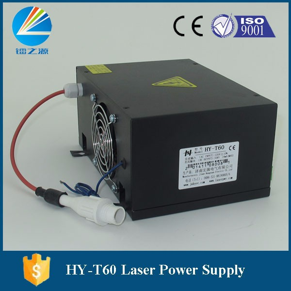 Capable T60 Co2 Laser Power Supply For Laser Cutting Machine Durable In Use Hair Extensions & Wigs