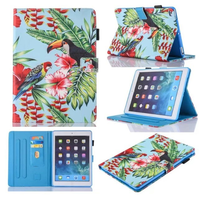 Case For Apple Ipad 9.7 2017 6Th Generation A1893 A1954 Smart Cover For Ipad Air 1 Air 2 Funda Stand Shell+Film+Pen