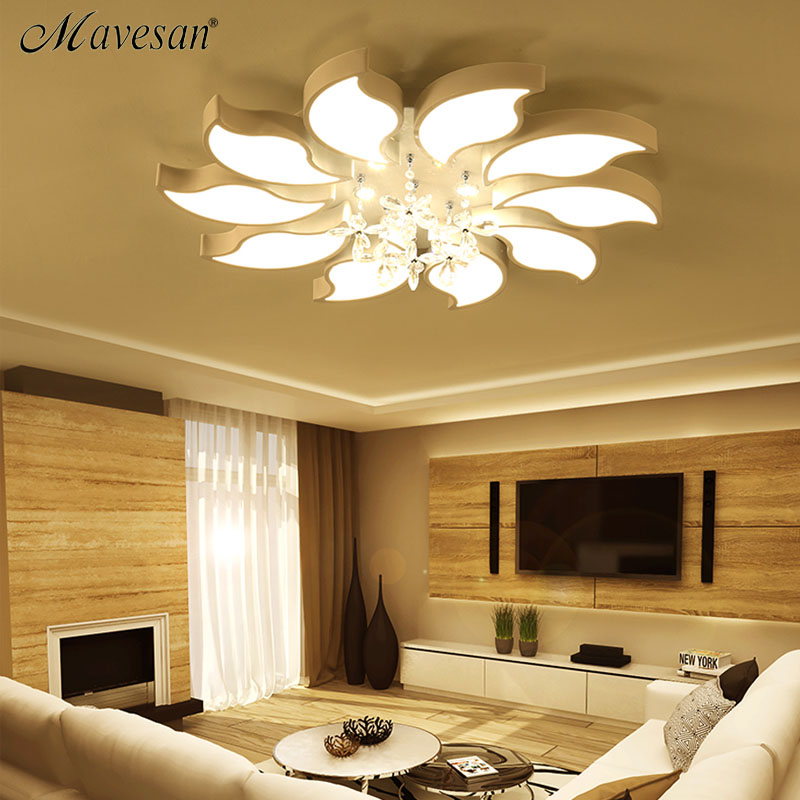 New Ceiling Lights Indoor Lighting Led Luminaria Abajur Modern For Living Room Lamps In From On