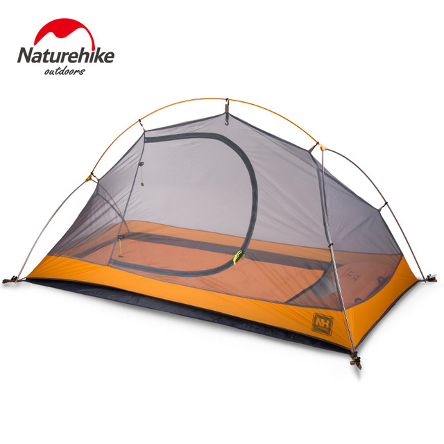1.3KG Naturehike 1 Person Camping Tent Outdoor Tool Tent With Footprint  Double Layers Tent  NH18A095-D