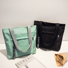 Waterproof bag Oxford Cloth Shoulder bag Sen Literary Female bag Korean Version Of The Wild bag цена 2017