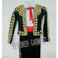 Customization Boy Rhythmic Gymnastics Ice Skating,Ice Dance Wear Costumes Clothes Sequined Top Jacket And Pants