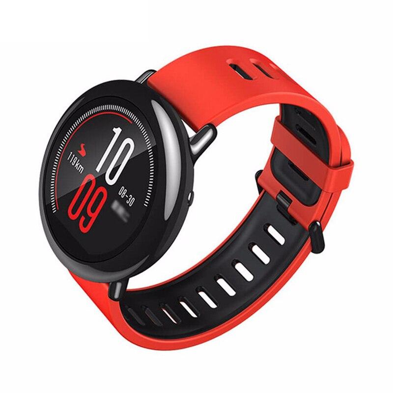 ef5359c39fc Xiaomi originais Relógio Huami AMAZFIT Ritmo GPS Execução Do Bluetooth 4.0  Monitor de Freqüência Cardíaca Esportes Relógio Inteligente MI CE em  Relógios ...