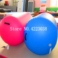 Free Shipping 1.2m*0.8m Fitness Exercise Equipment Training Gym Tumble Air Roller Inflatable Gymnastics Track Roller