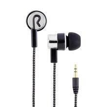 Universal 3 5mm Wired Earphones Noise Cancelling Sport Headset In ear Earbuds Oordopjes Fone De Ouvido