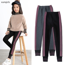 4-13Y New Girls Pants Children Casual Trousers Teenager Elastic Pants Outwear Kids Girl Clothes Spring Autumn tenyue spring and autumn babies 3 autumn children s trousers 4 children s casual pants children s autumn trousers