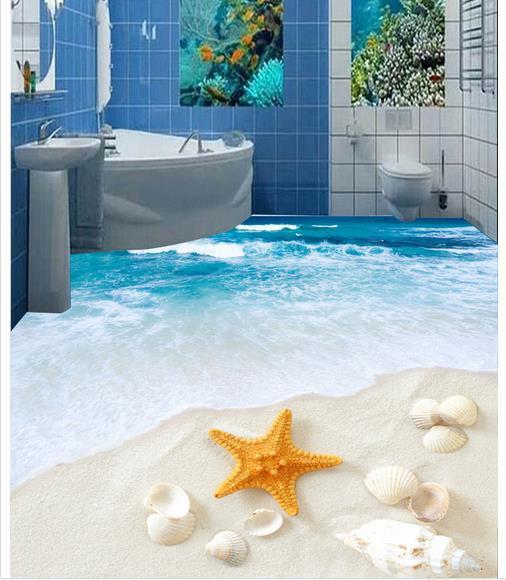 Buy Custom Photo Floor Wallpaper 3D