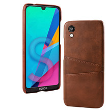 PU Leather Case for Huawei Honor 8s Case Shockproof PC Back Case Anti-Scratch Phone Protective Cover on for Huawei Honor8s(China)