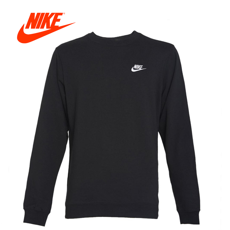 Original New Arrival Official Nike NSW CRW CLUB Men's Breathable Pullover Jerseys Sportswear adidas new arrival official ess 3s crew men s jacket breathable pullover sportswear bq9645