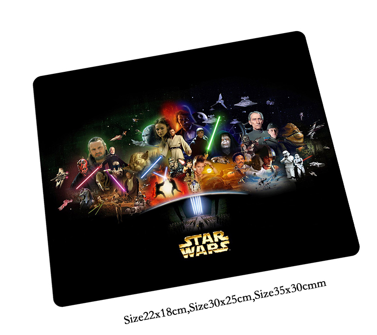 Star Wars mouse pad present mousepads best gaming mouse pad gamer padmouse Customized large personalized mouse pads keyboard pad