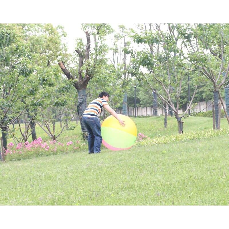 슈퍼 큰 80cm PVC 풍선 볼 아이 아이 에어 비치 볼 - 수상 스포츠 - 사진 5
