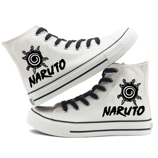 CHIBI NARUTO THEMED HIGH TOP SHOES (10 VARIAN)