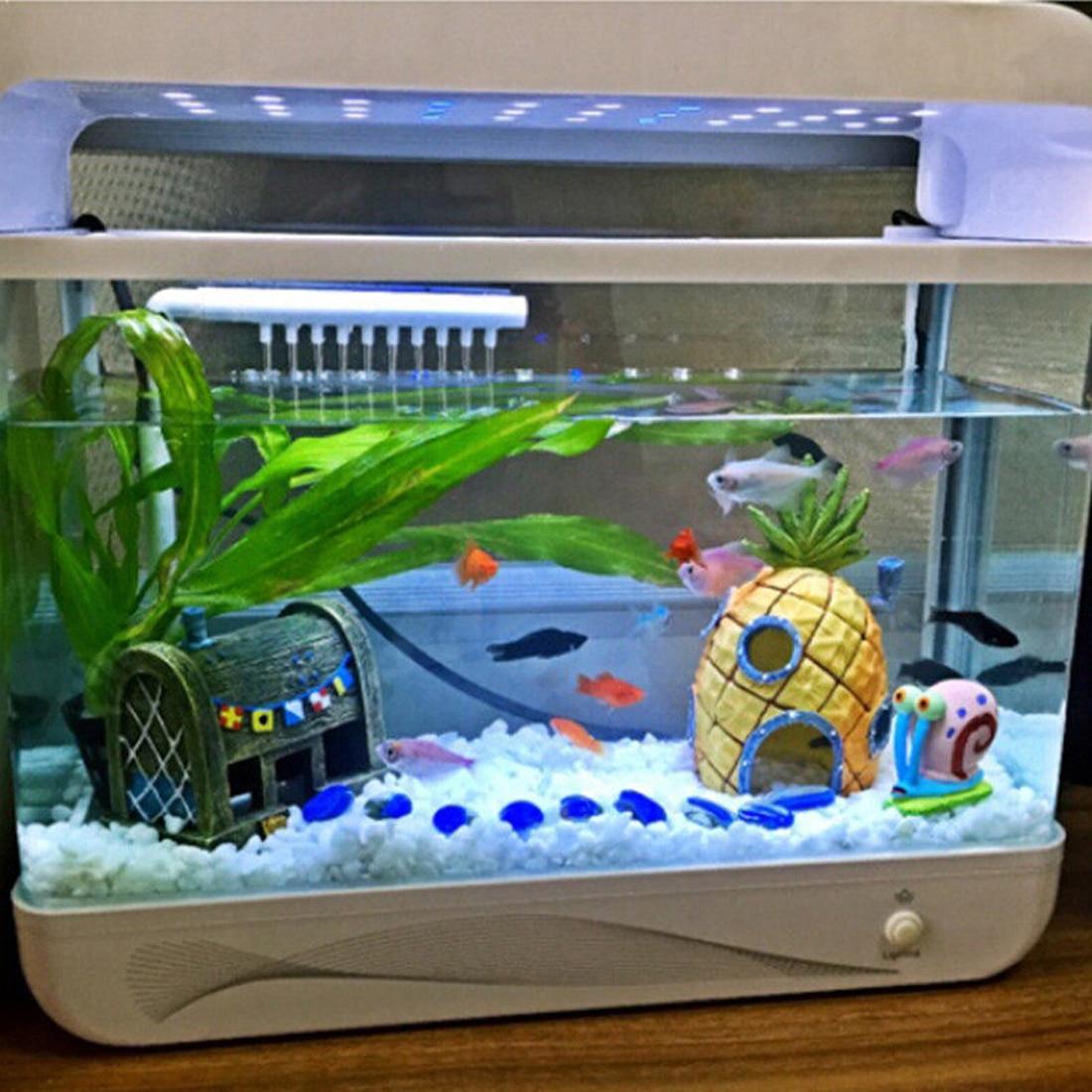 1 St Live Aquarium Fish Huis Nest Hars Grot Imitatie Vulkaan Moss Aquarium Ornament Moss Vis Aquarium Decoratie 100% Hoogwaardige Materialen