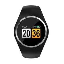Q1 mão Pulseira Relógio LCD relógio Inteligente Pulseira Inteligente carga magnética cardíaca compatível com iOS Android Smartwatch