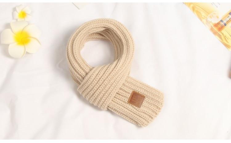 Новые Теплые Детские шарфы