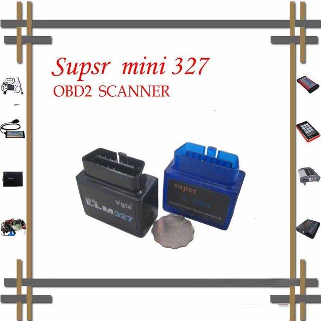 2016 super mini bluetooth elm327 car obd obdii can bus scanner wireless elm 327 interface vgate smart elm327 scan cable