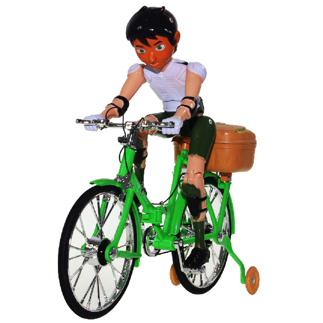 Children's toys simulation of electric bicycles electric bicycle music music glow toy bike